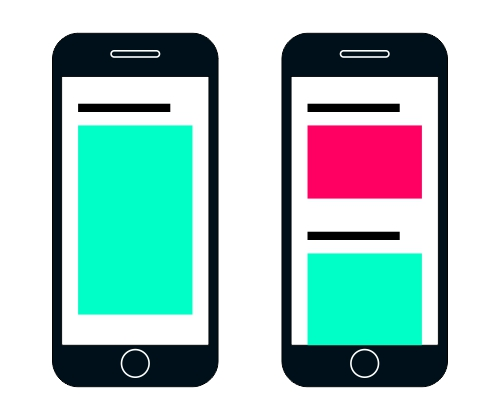 Mobile first content